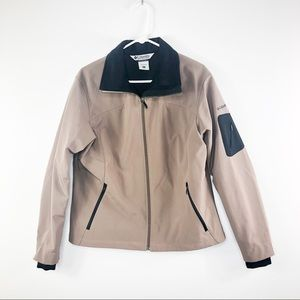 Columbia | Light Brown Soft Shell Jacket - Size XL